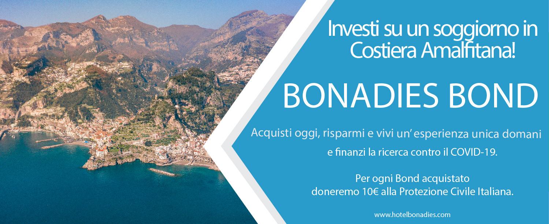 Bonadies Bond investi su un soggiorno in Costiera Amalfitana