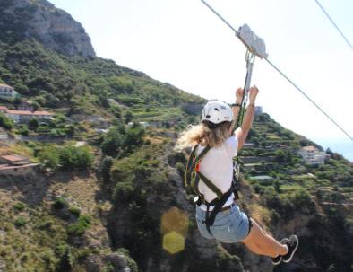 Amalfi Coast Zip Line Furore Conca Experience
